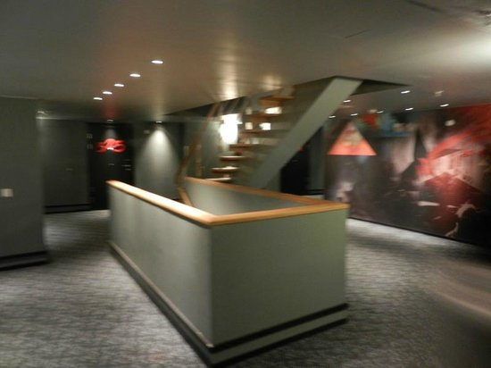 Comfort Hotel Xpress Stockholm Central: Corridoi