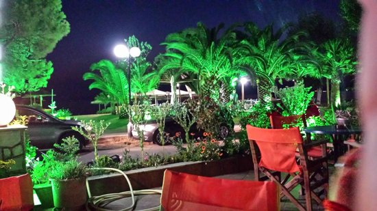 Sunset Studios : Blick von der Bar aus