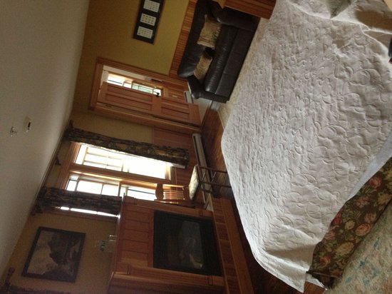 Hotel Mountain Brook: Great rooms