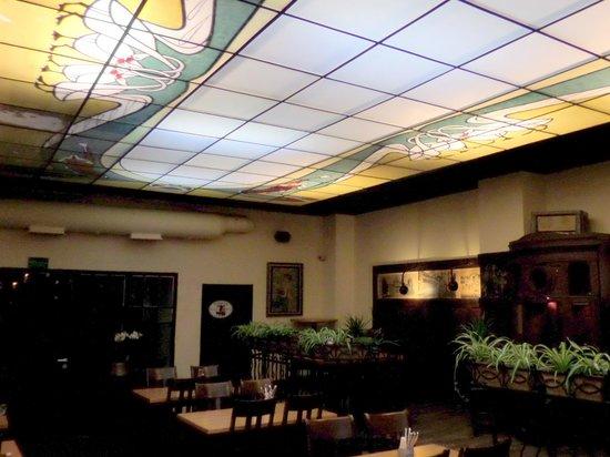 Zillemarkt: Vetrata liberty al soffitto