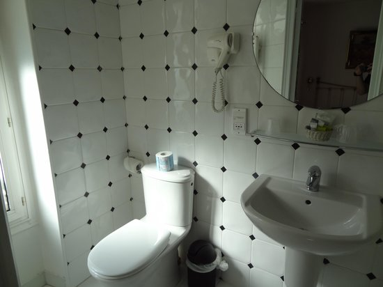Hotel Atlantis Saint-Germain-des-Pres : トイレ