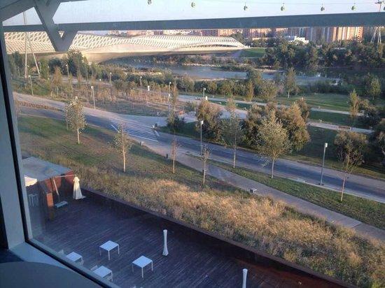 Hotel Hiberus : Vista desde la habitación