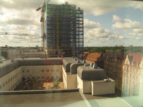 Scandic Triangeln: Utsikt våning 5