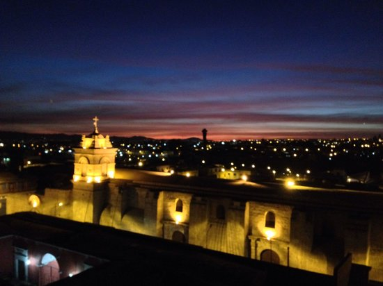 Hotel San Agustin Posada del Monasterio: Taken from the rooftop