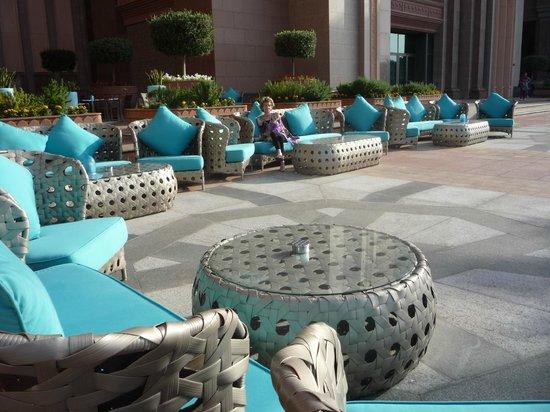 Emirates Palace : Gartenkaffe