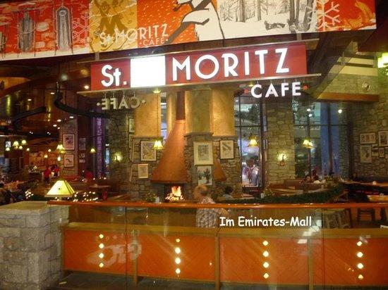 "Emirates Palace : Im Einkaufszentrum: Kaffe ""St. Moritz"""