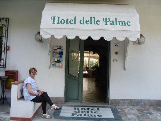Hotel delle Palme: ingresso hotel.