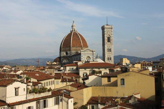 B4 Astoria Firenze : vista panoramica dalla stanza 511