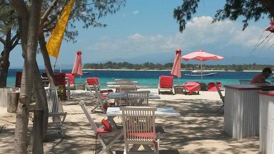 Danima Resort & Restaurant : spiaggia attrezzata, mare...da vedere !