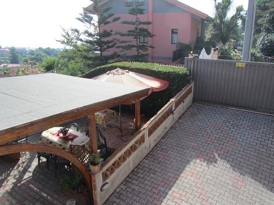 Villa Hirschen: Dal balcone