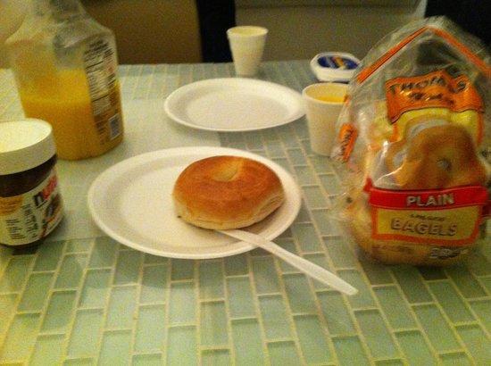 Thomas Family B&B: Petit déjeuner