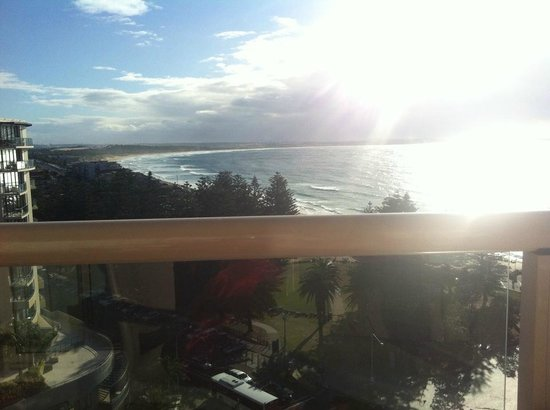 Rydges Cronulla: view from balcony level 9