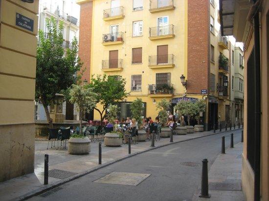 Barrio del Carmen: Plaza Negrito