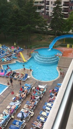 Laguna Park Hotel: View from the balcony