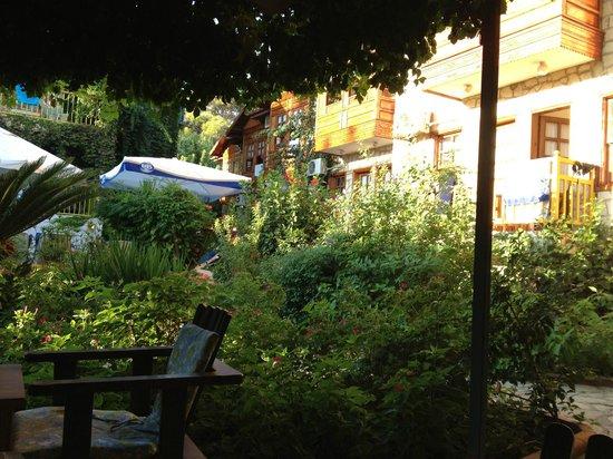 Hotel Lale Park: Hotelgarten