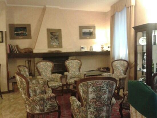 Hotel Pavone: sala