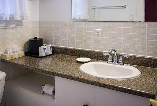 Allen's Motel : Room 7 bathroom