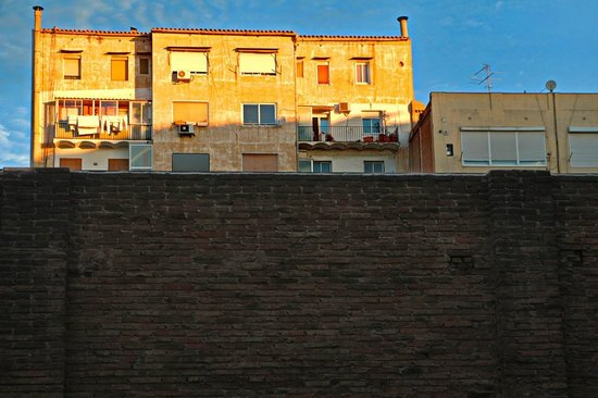 Ayre Hotel Caspe : Blick nach oben vom Zi. 219