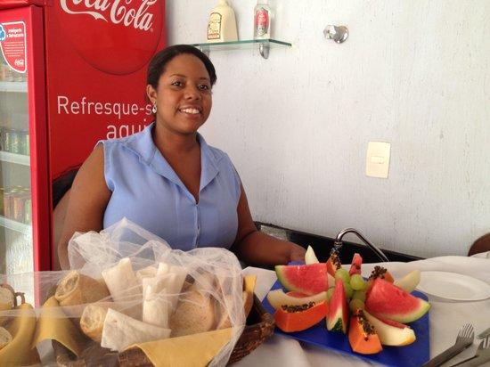 Pousada Encanto de Itapoan: Helpful and friendly staff
