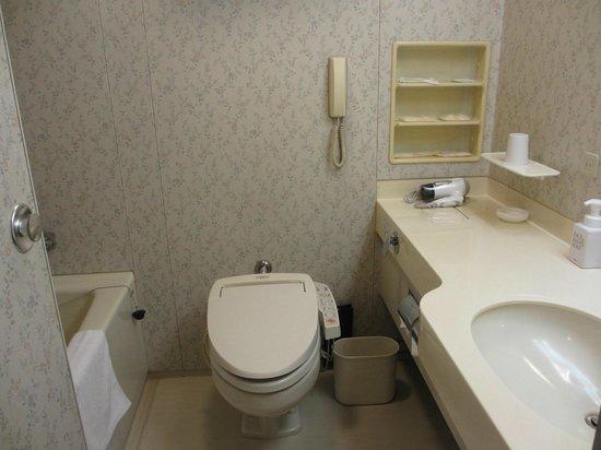 Tennoji Miyako Hotel: バスルーム