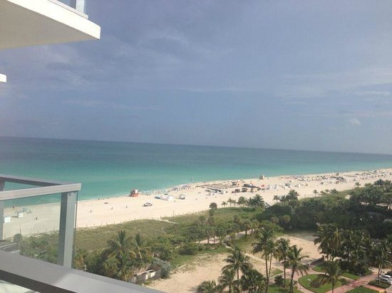 W South Beach: Vista desde la habitacion