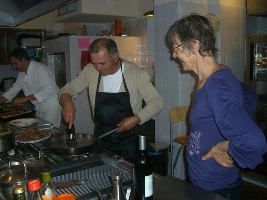 Agriturismo Cascina Papaveri: Cooking with the pros