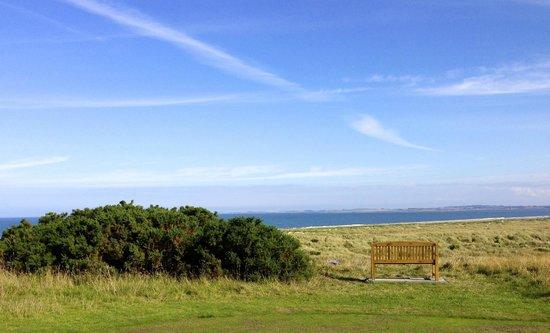 Royal Dornoch Golf Club: Opening tee box on the Struie course at Royal Dornoch.