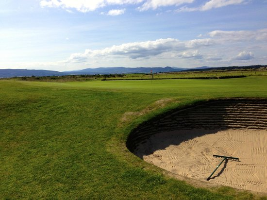 Royal Dornoch Golf Club: On the back nine of the Struie course at Royal Dornach.