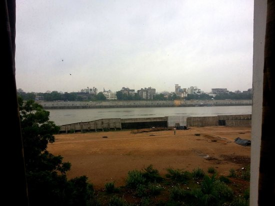 Lemon Tree Premier; The Atrium, Ahmedabad: RIver Sabaramati View from room