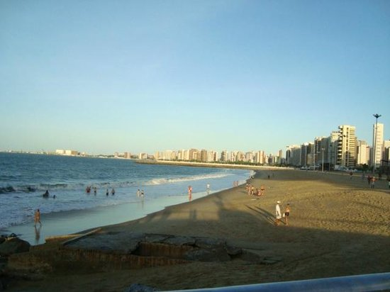 Iracema Beach: Foto tirada na Praia de Iracema em Fortaleza