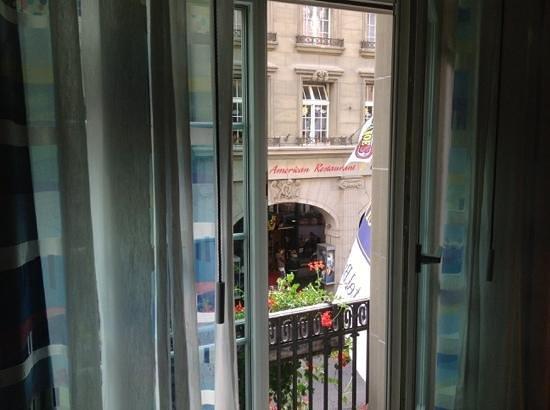 Hotel Bristol: la vista da fuori