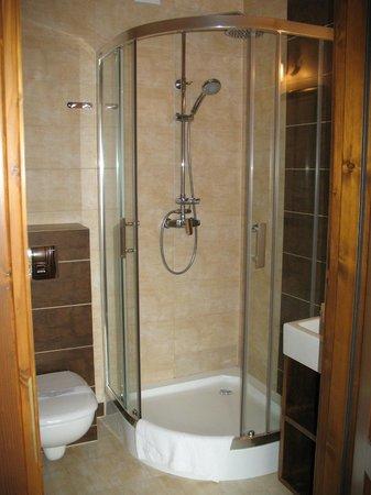 Orlik Pension: Bathroom