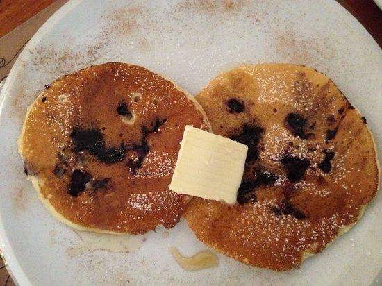 Domus Balthasar Design Hotel: Outstanding blueberry pancakes for breakfast!