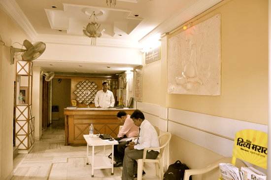 Ritesh Hotel : Reception Lobby
