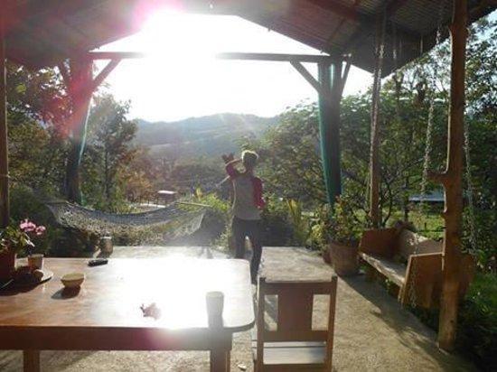 Establo San Rafael: In the morning