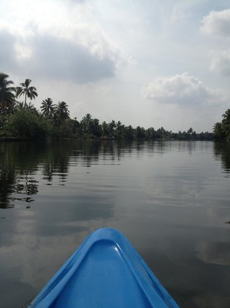 Kait's Home - Farm Life Resorts: canoe ride view