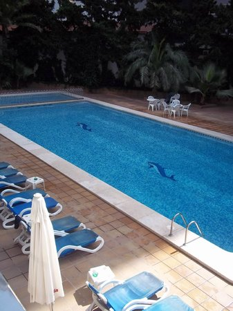 Hotel Perla: Pool Area