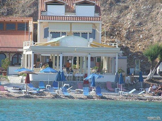 Faros Fish Restaurant: Faros from the sea