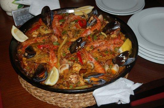 Can Costa Alcudia: paella de mariscos deliziosa