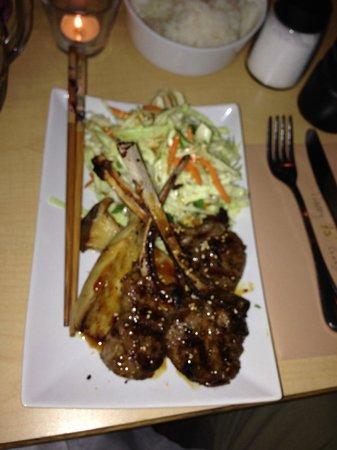 Miksa Restaurant: Lamb Popsicles