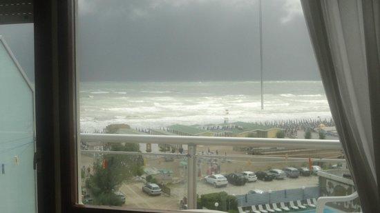 Hotel Bellevue Beach: vista dalla camera