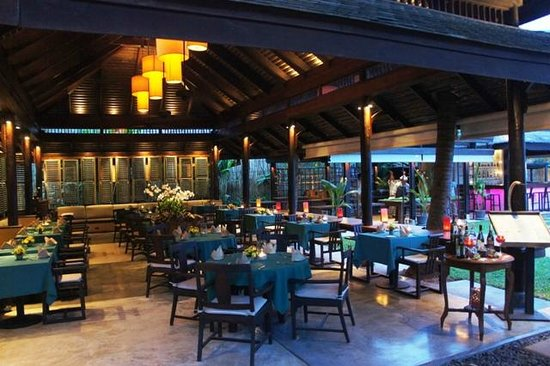 Buri Rasa Village Samui: Dining area for breakfasts and dinners