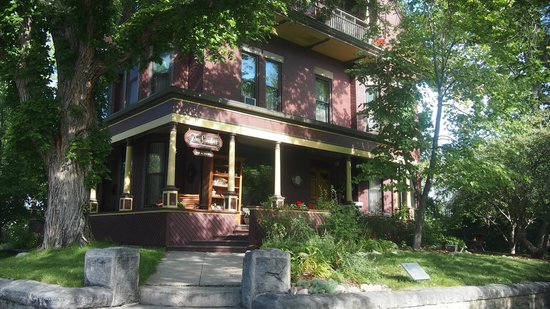 Sanders - Helena's Bed and Breakfast: Eingangsbereich mit Veranda