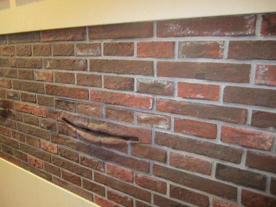 Musée historique juif : die sprechende Mauer