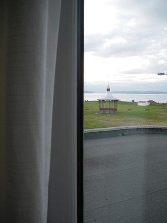 برايفال هوتل: vista spiaggia