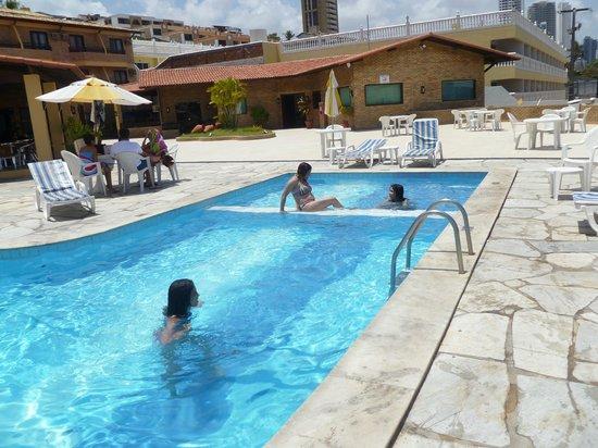 SESC Ponta Negra: vista da piscina
