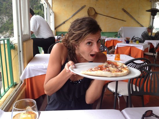 Ristorante Scialapopolo All'Onda D'Oro: Yummy pizza fresh ingredients