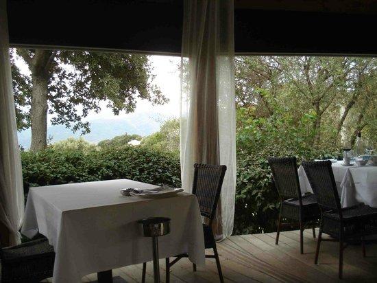 Santa Barbara: la terrasse