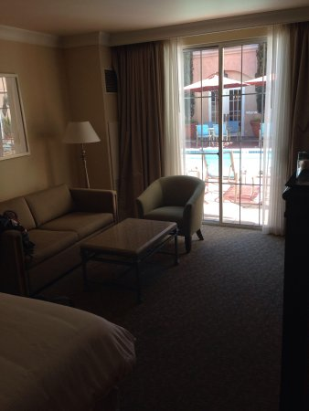 The Westin Palo Alto: A room at the pool