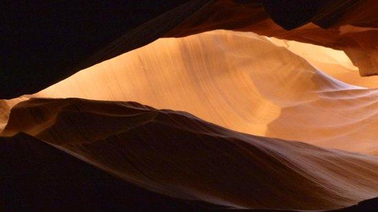 Antelope Canyon: Oranges Farbenspiel